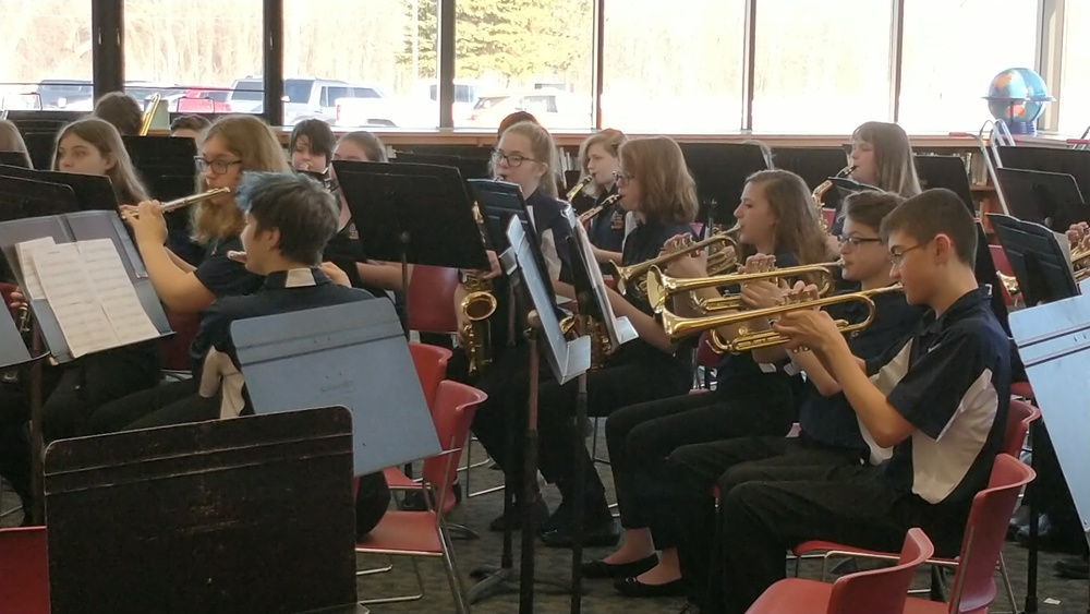 MS 1st Division Rating at Band Festival