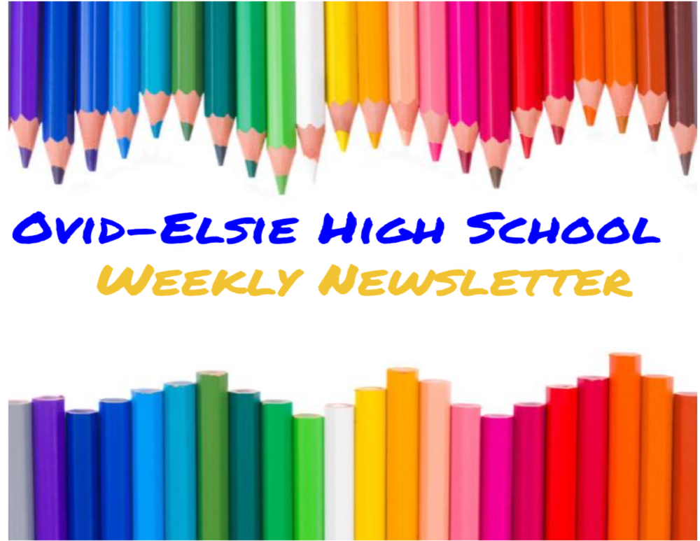 OEHS Newsletter - Week of 5/3/21