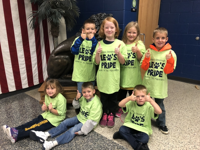 Congratulations to Leonard's September paw shirt winners!