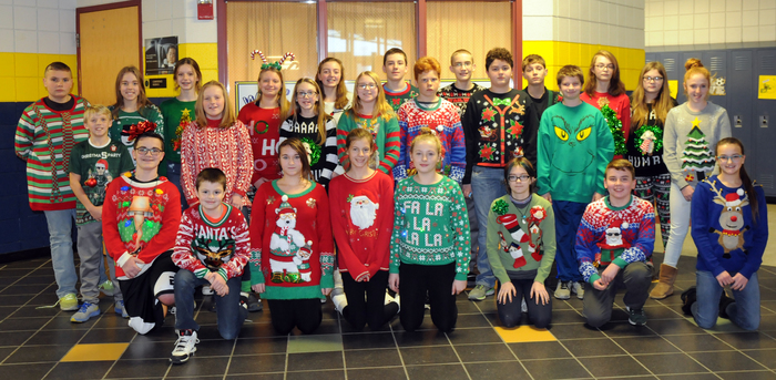 Ugly Sweater 7th Grade
