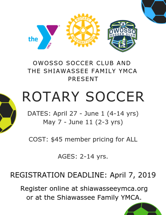 Spring Rotary Soccer