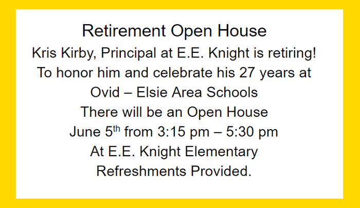 Retirement Open House