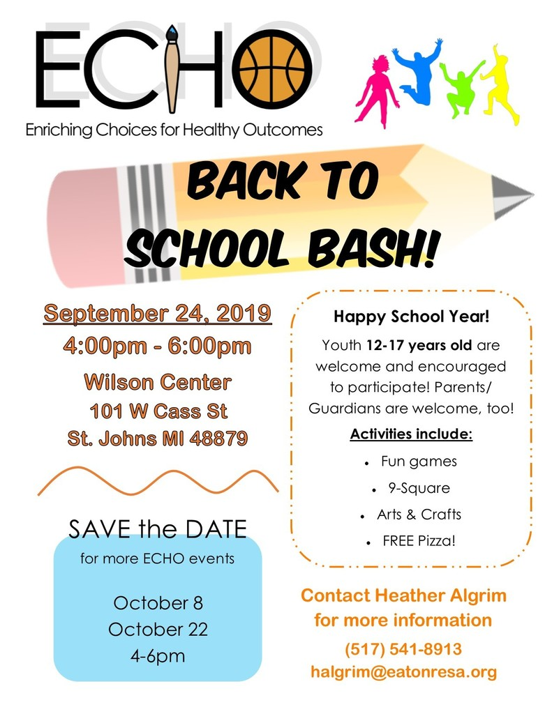 ECHO Back to School Bash