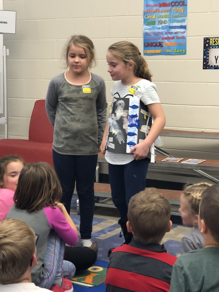 Students share their invention to keep bugs and insects away.