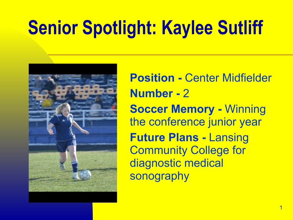 Senior Spring Athlete Spotlight