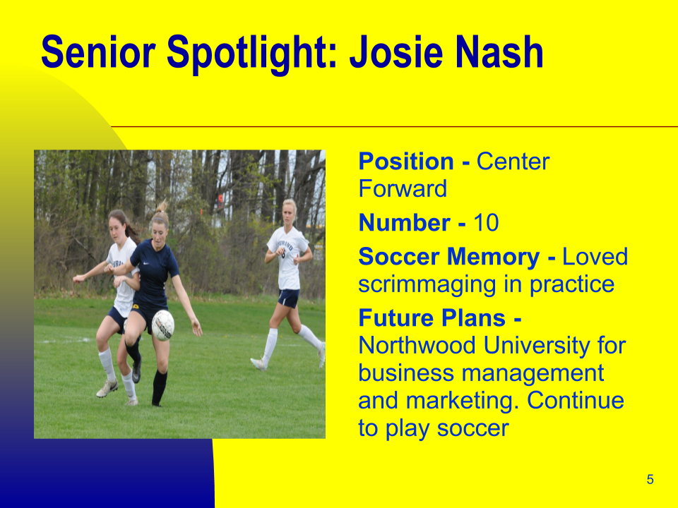 Senior Spotlight: Josie Nash