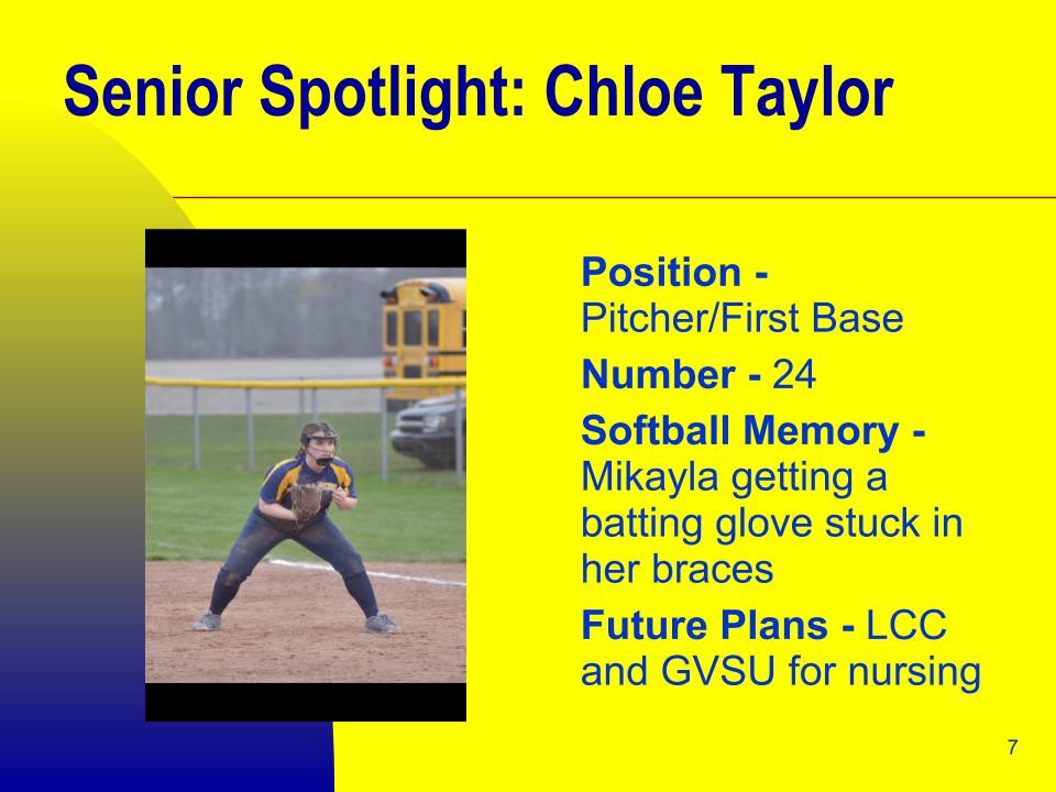 Senior Spotlight: Chloe Taylor