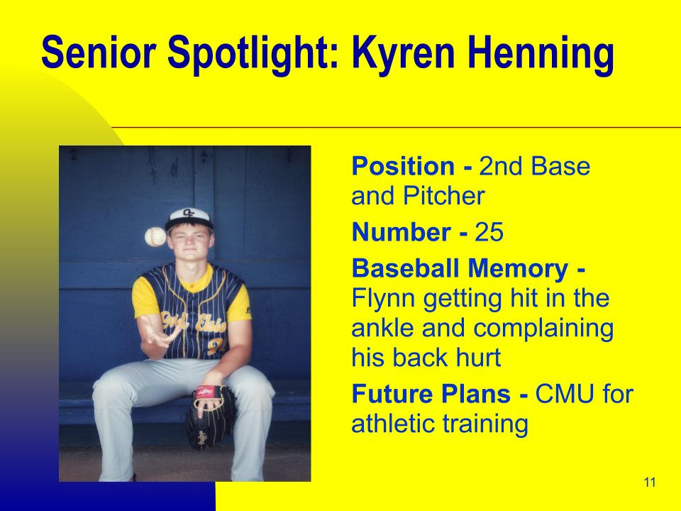 Senior Spotlight: Kyren Henning