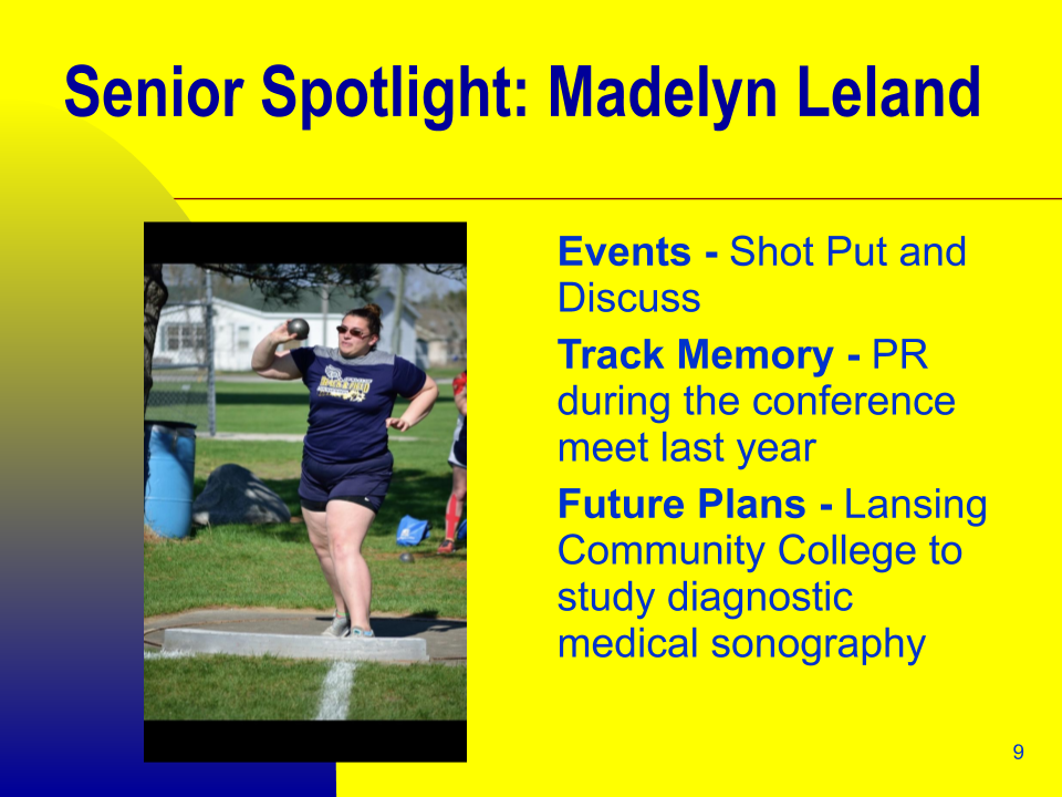 Senior Spotlight: Madelyn Leland