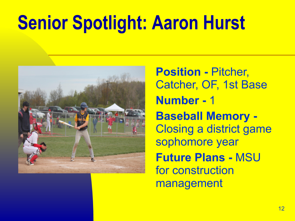 Senior Spotlight: Aaron Hurst