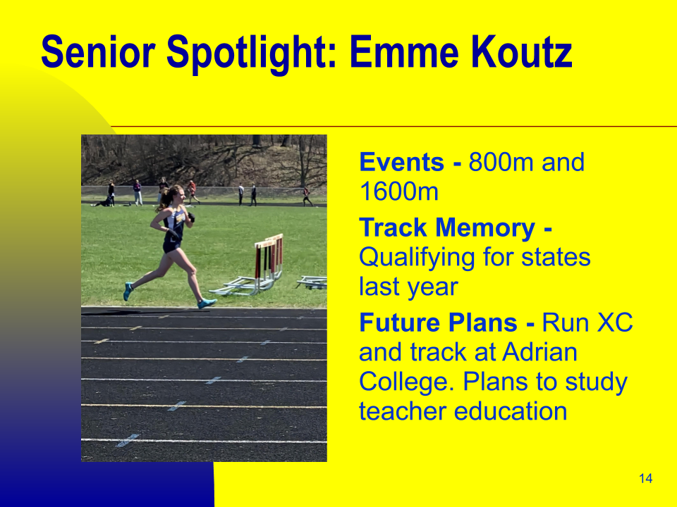Senior Spotlight: Emme Koutz